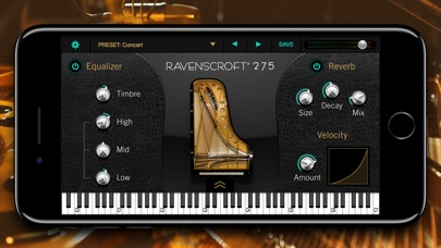 Ravenscroft 275 Piano Screenshot