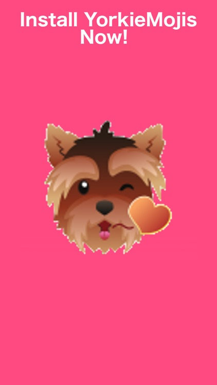 YorkieMojis - Emojis for Yorkie Lovers screenshot-3