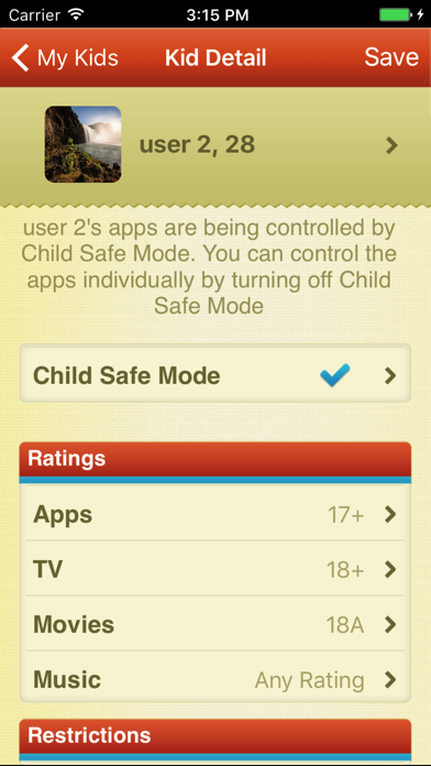 ParentKit - Parental Controls for iOSスクリーンショット