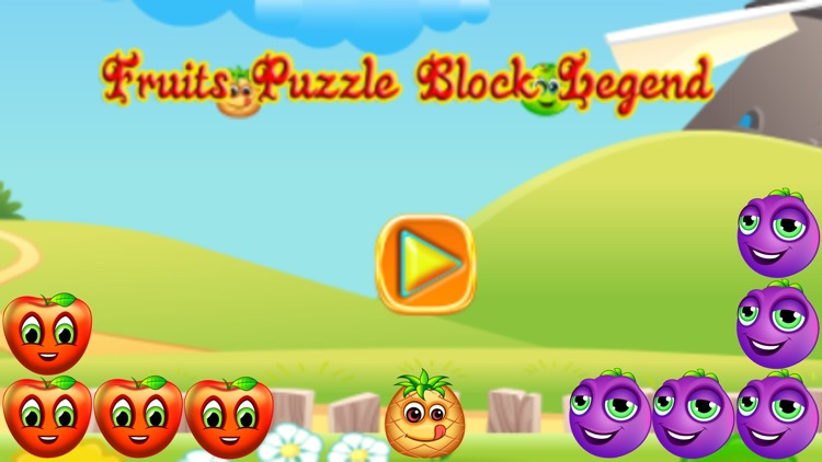 Fruits Puzzle - Block Legend