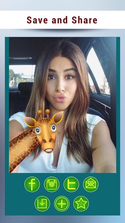 Giraffe Cam- Baby Giraffe Stickers screenshot-3