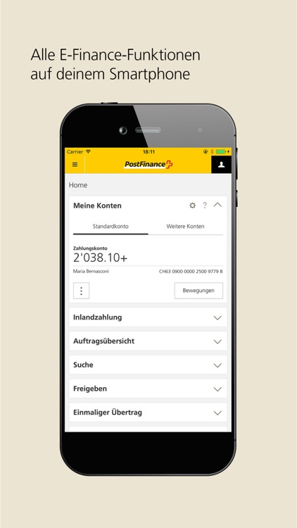 PostFinance Mobile screenshot-2