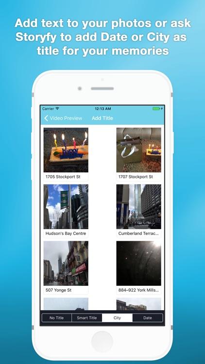 Storyfy: Slideshow maker screenshot-3
