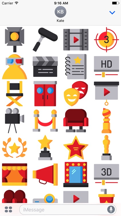 Movie Sticker Pack