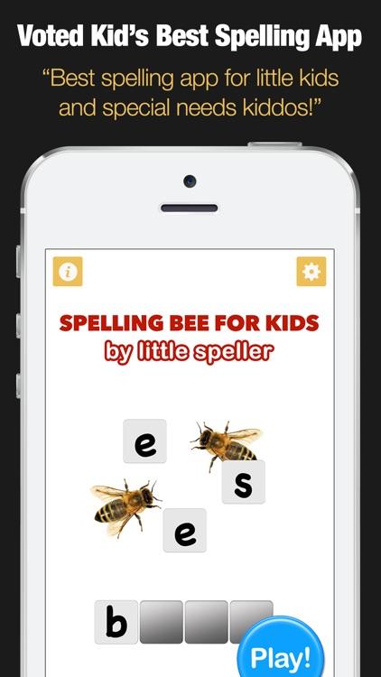 Spelling Bee for Kids - Spell 4 Letter Words