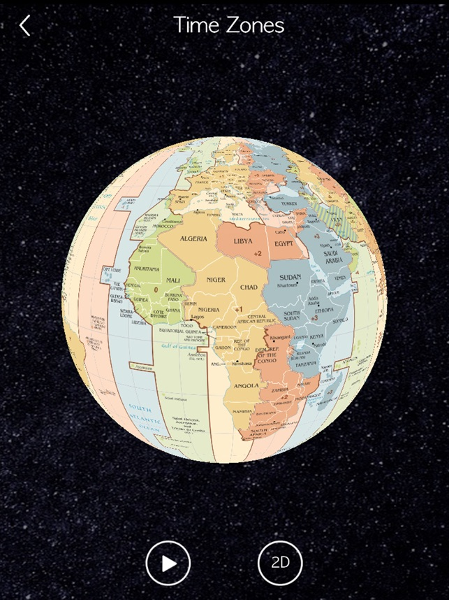 World Clock Time Zone Wheel
