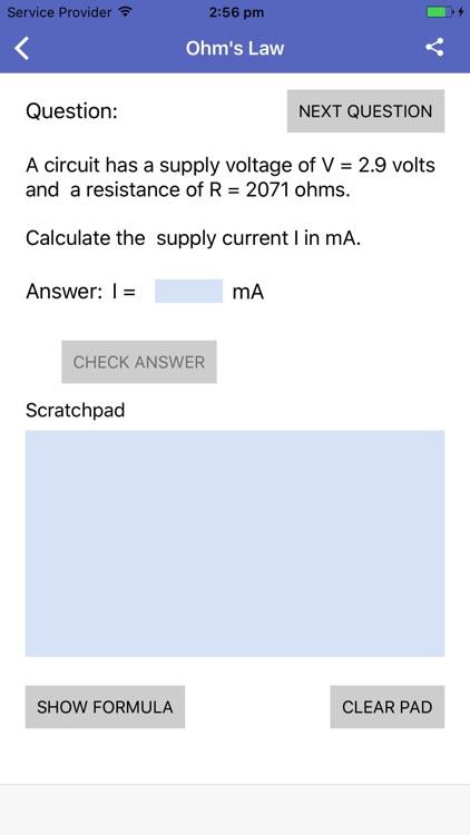 Electronics Questions screenshot-3