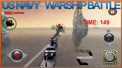 Navy Warship Gunner Fleet - WW2 War Ship Simulator screenshot four