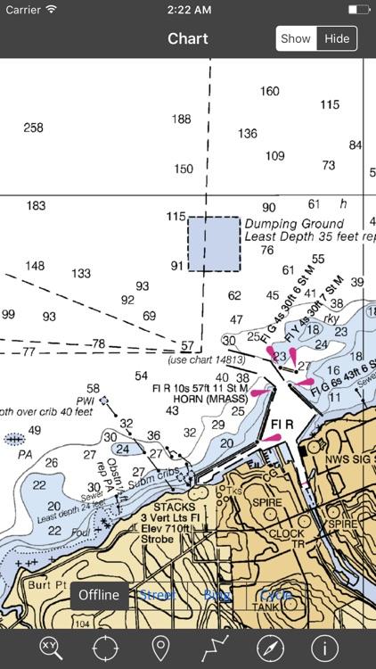 Lake Ontario – Raster Nautical Charts