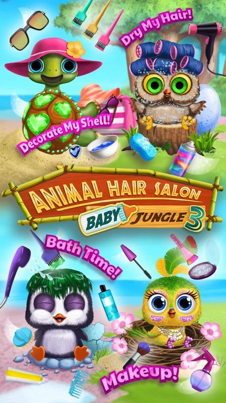 Baby Animal Hair Salon 3 – Newborn Hatch & Haircut