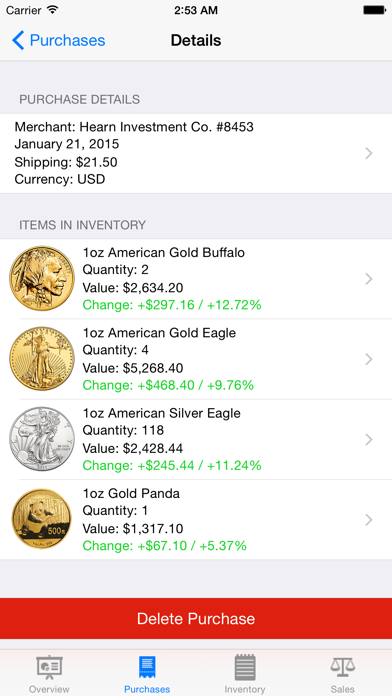 Gold Tracker for Windows