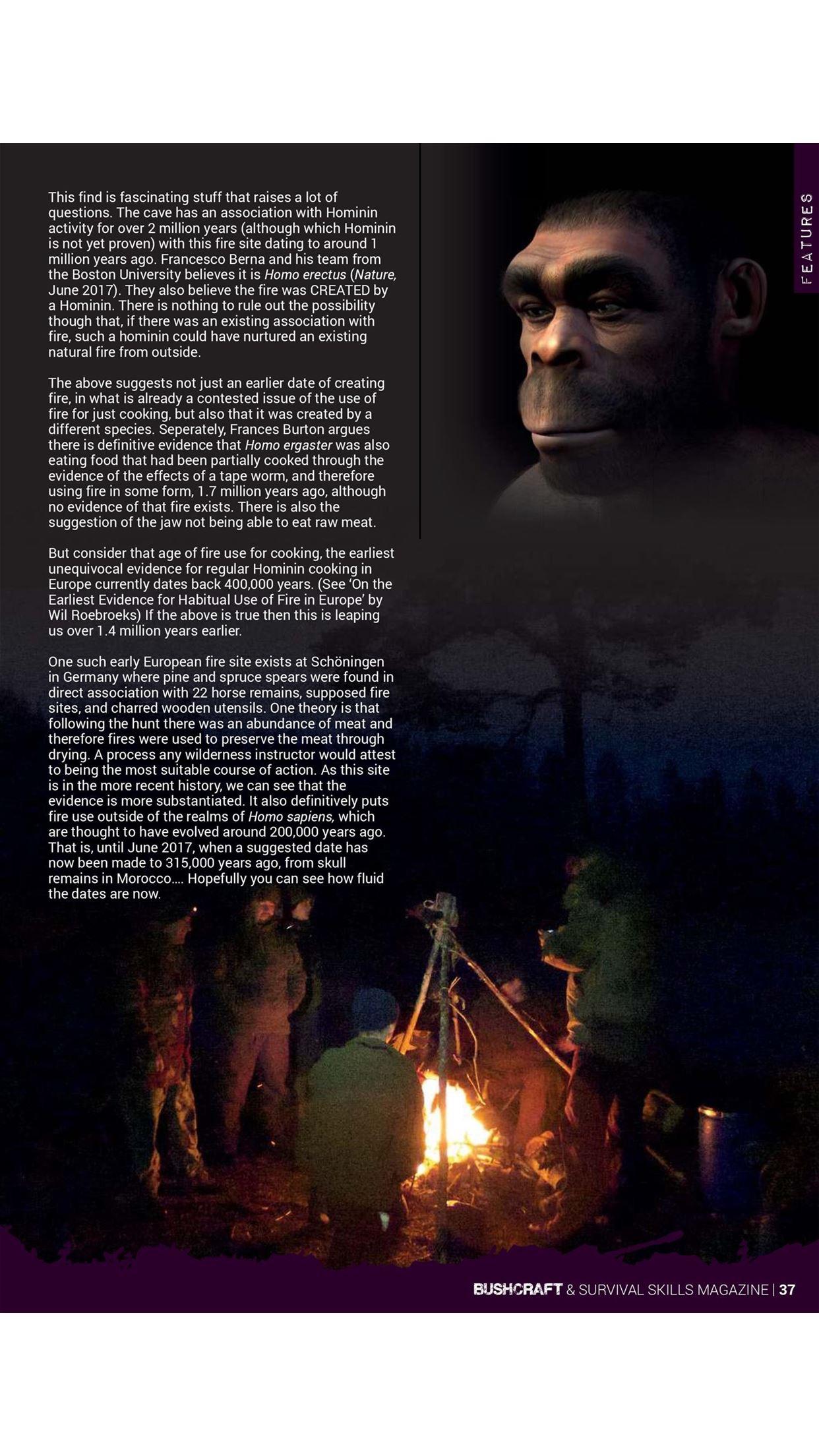 Bushcraft & Survival Skills Magazine - 'For living life outdoors…' Screenshot