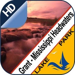 Grant Lake & Mississippi Headwaters offline charts