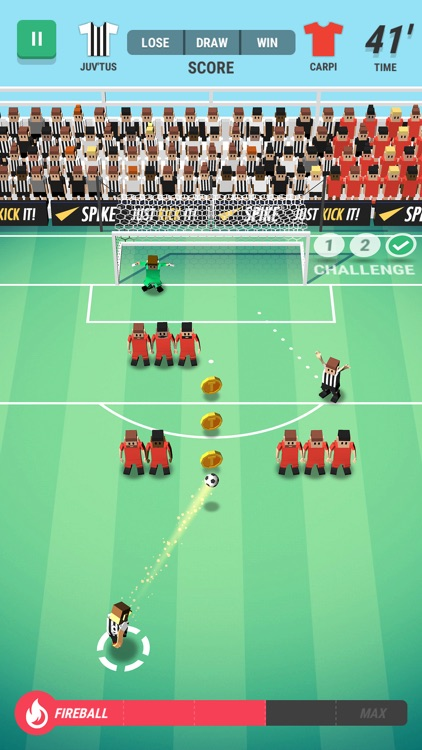 Tiny Striker: World Football screenshot-0
