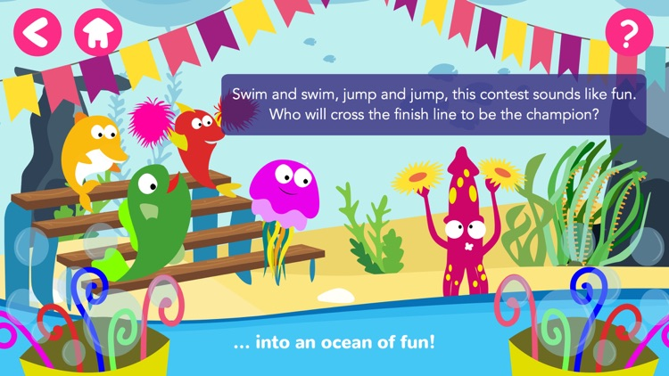 Math Tales Ocean: stories and games for kids screenshot-4
