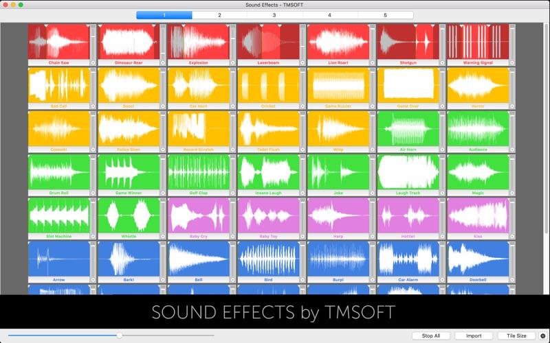 Sound Effects Screenshot