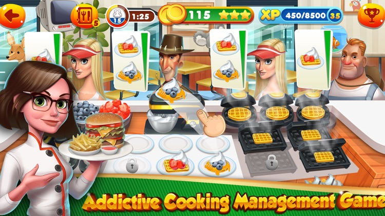 Cooking Games Top Burger Chef & Fast Food Kitchen