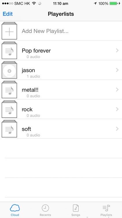 MusiCloud - Music File Manager screenshot-4