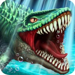 Dino Water World: Jurassic Dinosaur Fighting games