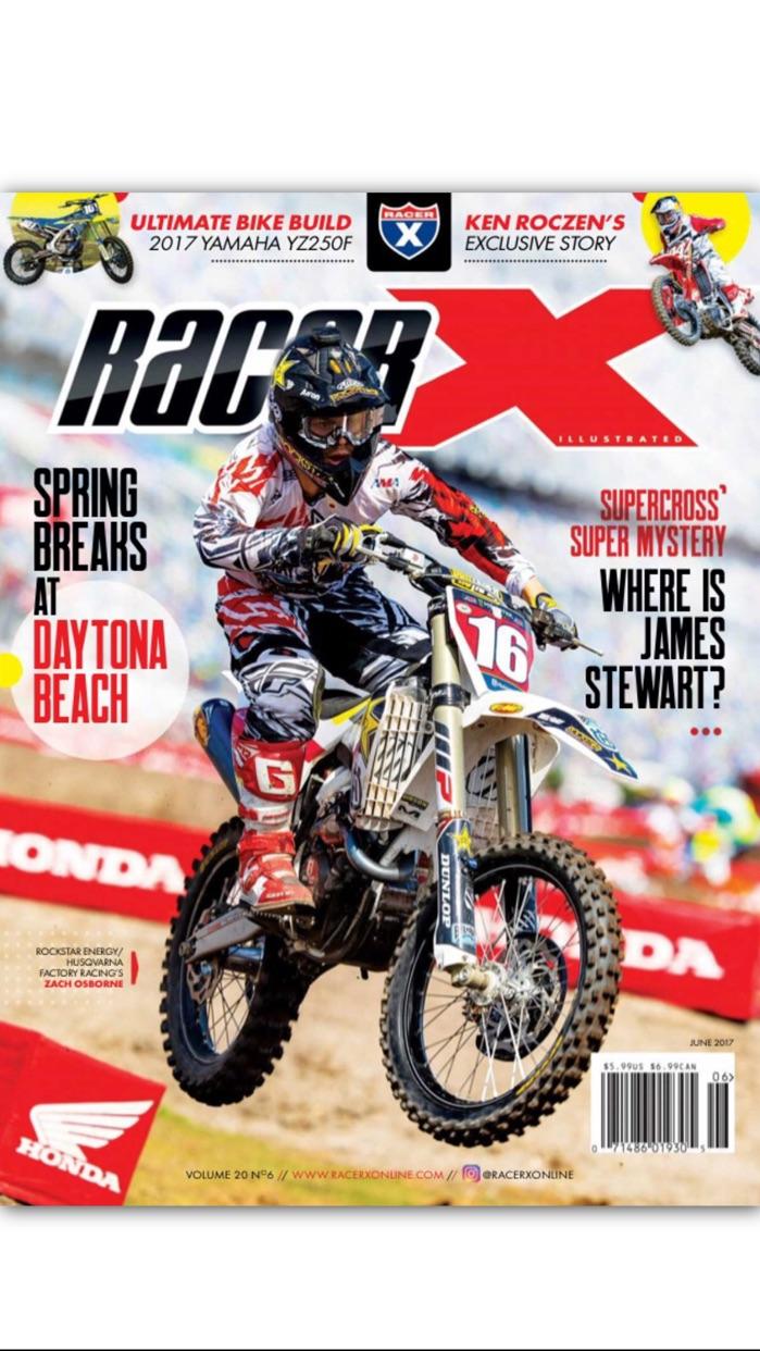 Racer X Illustrated Screenshot