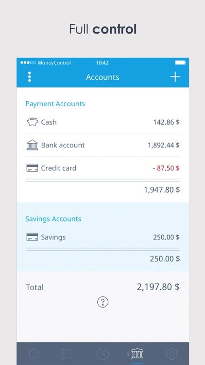 Spending Tracker MoneyControl screenshot-3