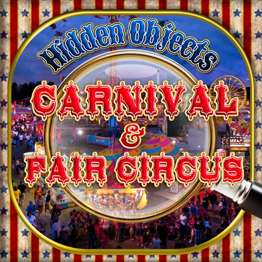 Hidden Objects Carnival & Fair Circus Object Time