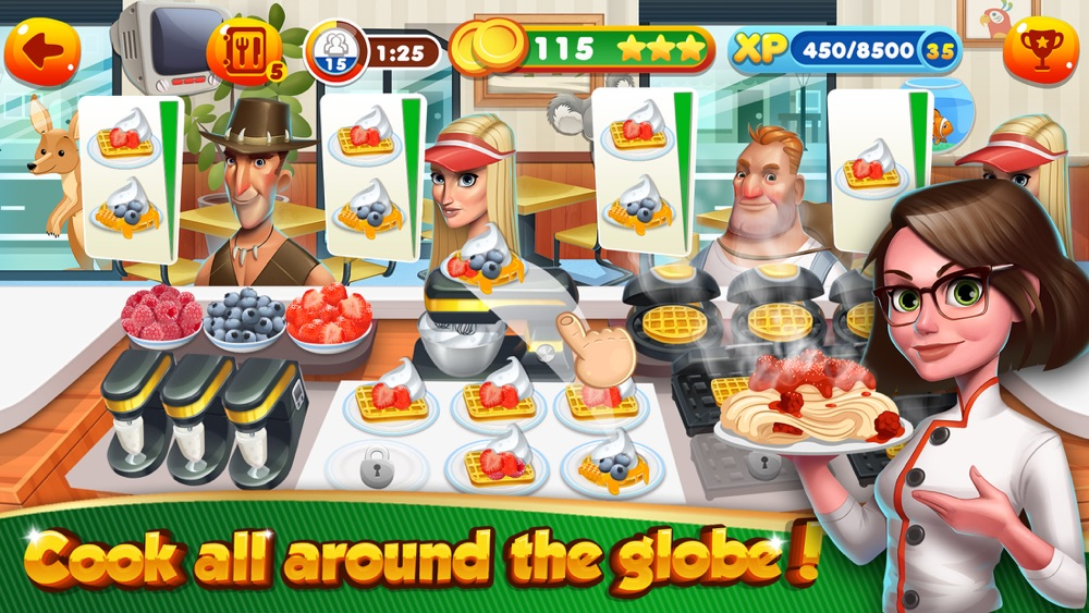 Cooking Games Fast Food Kitchen & Top Burger Chef Cheat Codes
