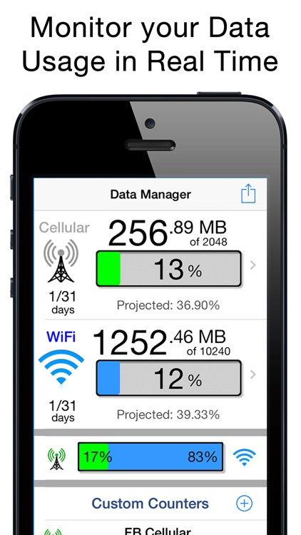 Data Manager Pro - Data Usage