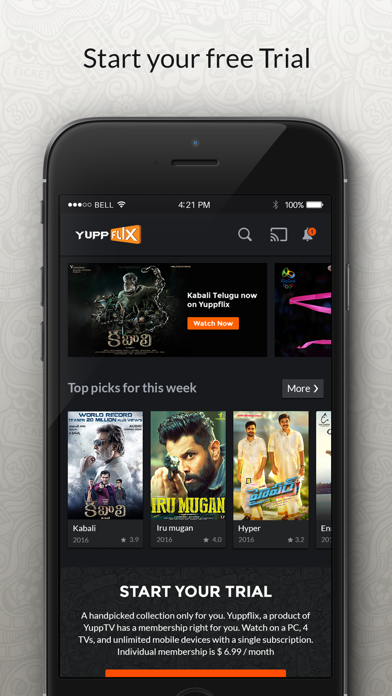 YuppFlix - Movies & TV Shows screenshot two