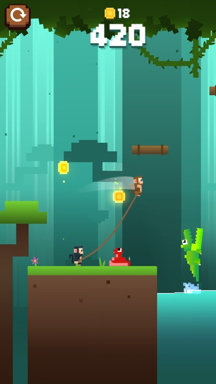 Monkey Ropes screenshot-0