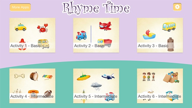 Montessori - Rhyme Time Learning Games for Kids on the App Store
