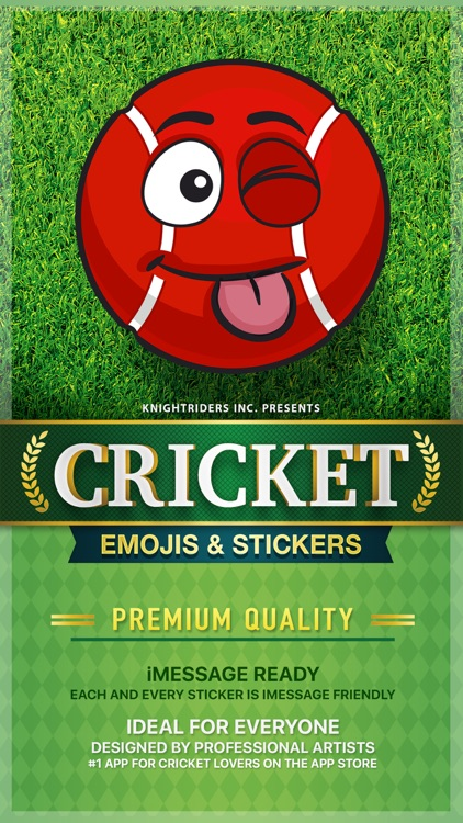 CricMoji - cricket emoji & stickers for iMessage