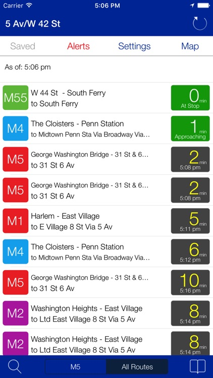 Transit Stop: NYC Bus Tracker screenshot-0