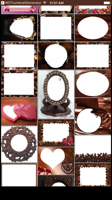 Chocolate Day Photo Frames & Picture Frame Effects screenshot one