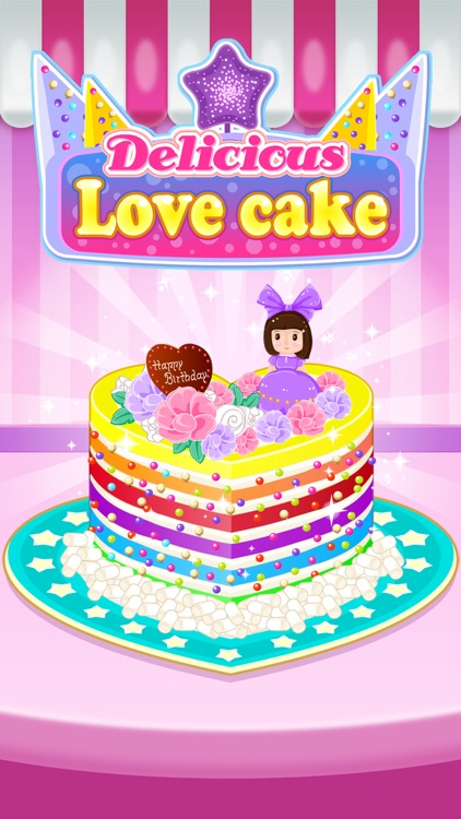 Delicious Love Cake - Cooking Game For Kids screenshot-0