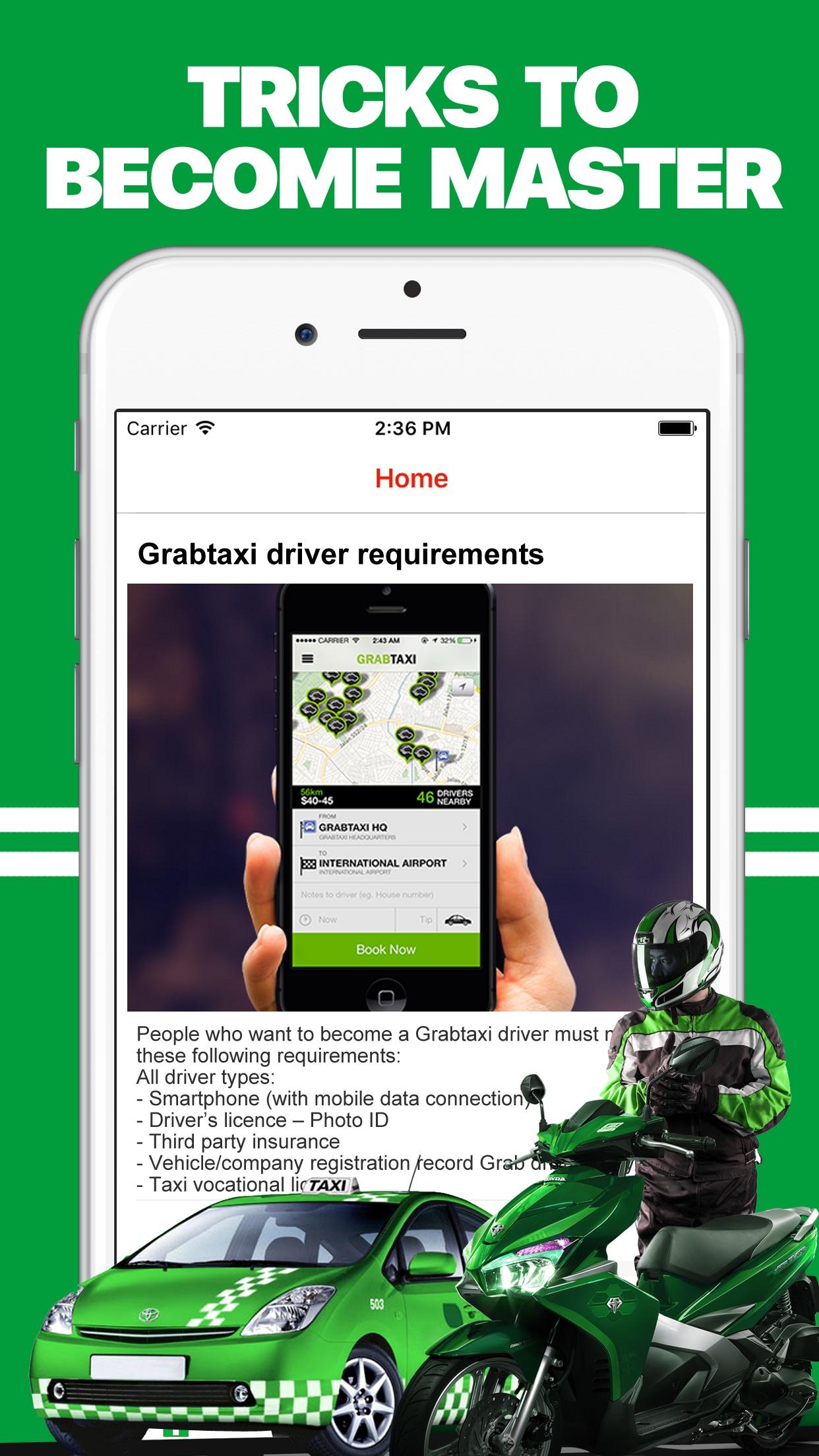 App for Grab Driver, Grap bike Screenshot