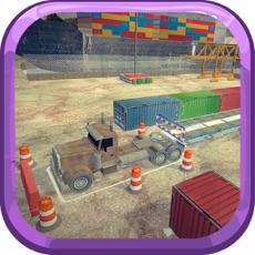 Activities of Port Truck Parking Simulator