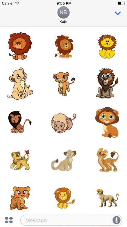 LionMojis - Best Lion Emojis And Stickers
