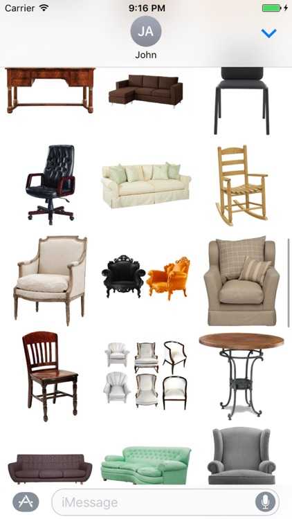 Furniture Stickers Pack