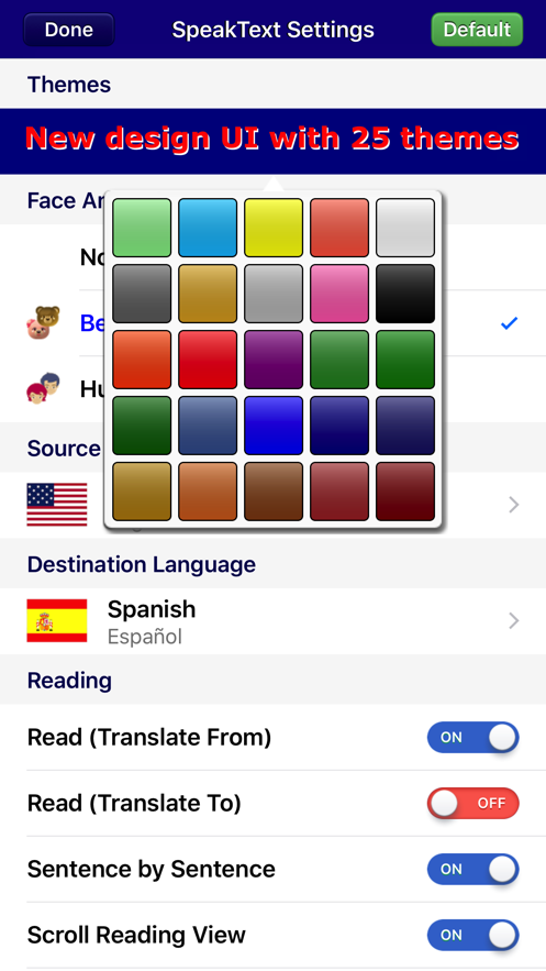 SpeakText for eBook App 截图