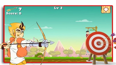Bow Shoot Rescue Game screenshot 1