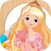 Paint Rapunzel coloring princesses fingerprinting