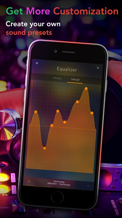 Equalizer + Volume Booster player&sound effects eq screenshot-4