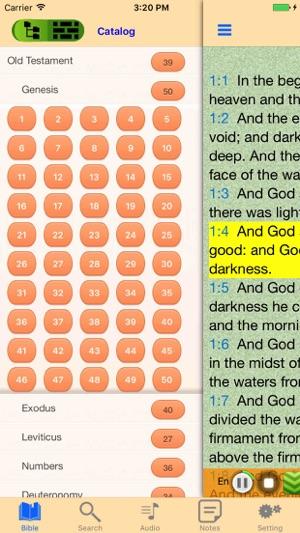 King James Version Bible Audio offline Scriptures on the App