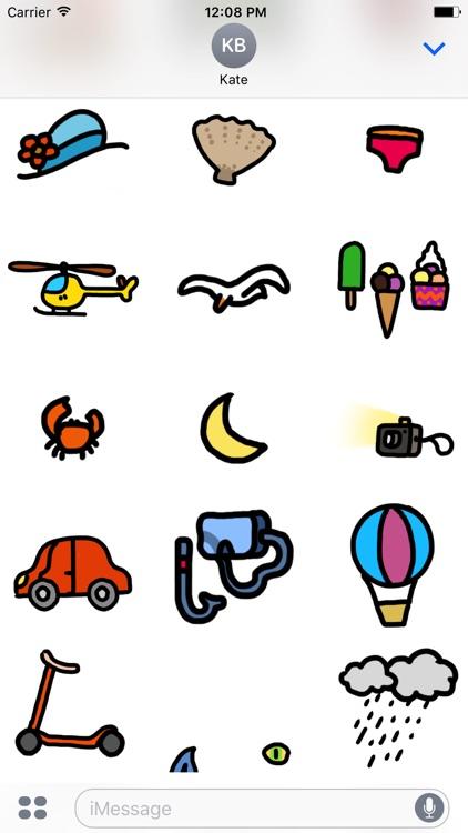 Journey Journal Stickers screenshot-3