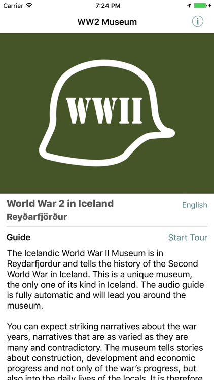 The Icelandic WW2 Museum Audio Guide