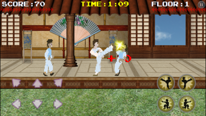Screenshot from Karate Fighter