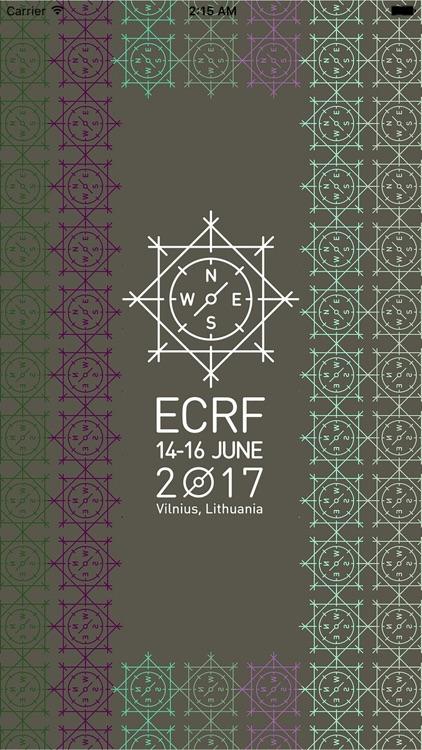 ECRF 17 - Vilnius, Lithuania