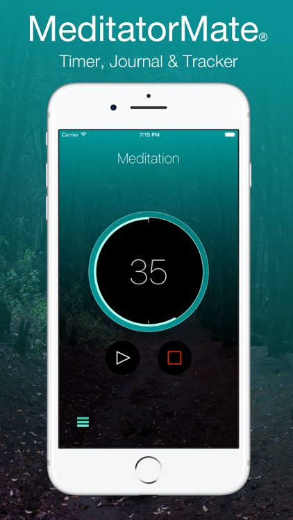 MeditatorMate - Meditation Timer - Journal