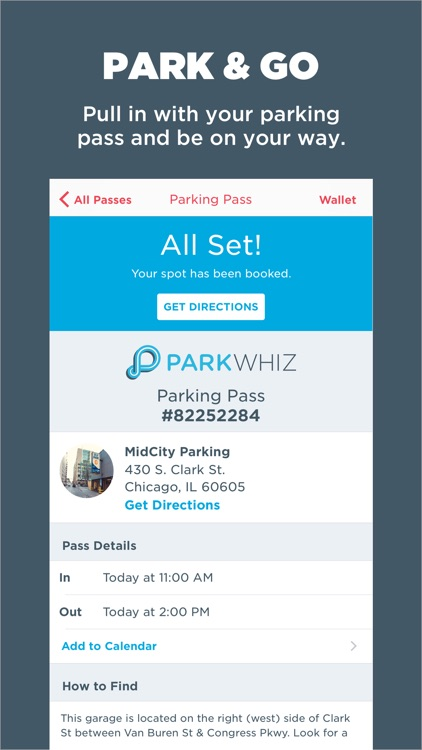 ParkWhiz: Book Parking Deals On The Go